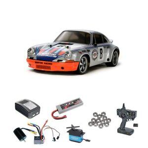 Tamiya-Porsche-911-Carrera-RSR-TT-02-Brushless-Edition-Komplettset-58571BLSET