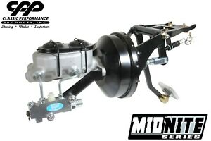 55-59 CHEVY TRUCK 3100 NEW FRAME MOUNT DUAL BOOSTER POWER BRAKE BOOSTER