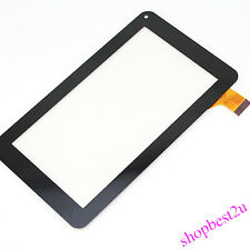 Black 7 Inch Touch Screen Digitizer Panel Tablet PC For Code CZY6411A01-FPC