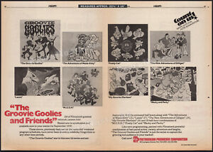 GROOVIE GOOLIES & Friends__Original 1978 Trade AD / poster__Filmation__Gilligan