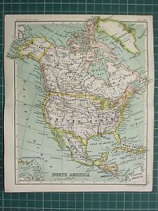 image is loading 1904 small map north america united states dominion