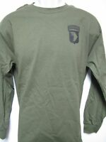 101 Airborne Long Sleeve T-shirt/ Front Print Only / Military/ Army T-shirt/