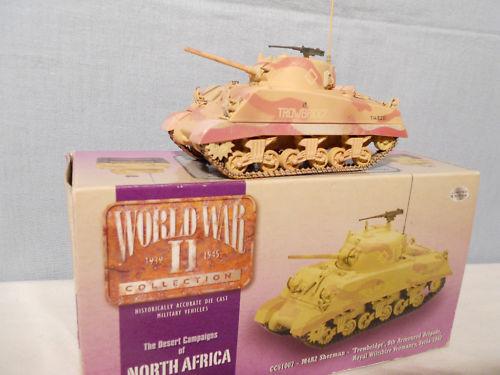 Corgi military cc  51007 sherhomme tank m4 a2 nouveau 1943 syria paper box  haute qualité et expédition rapide