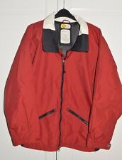 Mens Burton Biolight Dark Red Snowboarding Skiing Ski Jacket Coat Size Small