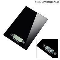 11lb x 0.05 oz Glass Electronic LCD Digital Kitchen Scale 5Kg x 1g Food / Postal