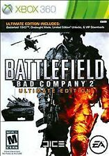 Battlefield: Bad Company 2 -- Ultimate Edition (Microsoft Xbox 360, 2010) TESTED