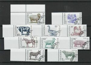 Bulgaria Animals 1991 Used Stamps Ref 23894