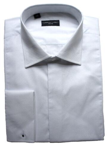 100/% coton fly front Marcella replier col chemise 18,5 pouces