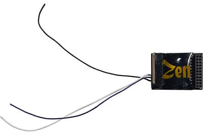 Dcc Concepts Dcd-zn218.6 Zen Black Decoder 21 Or 8 Pin 6 Func 23x16.5mm Famoso Per Materiali Selezionati, Disegni Innovativi, Colori Deliziosi E Lavorazione Squisita