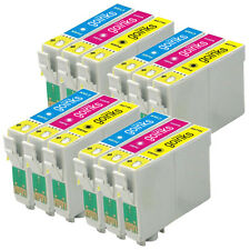 12 C/M/Y Cartucce d'Inchiostro per Epson Stylus DX4050 DX8400 SX205 S21