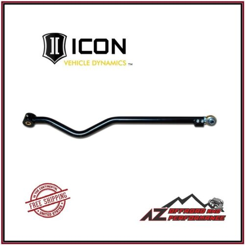 ICON Heavy Duty Adjustable Front Track Bar 21020 for 2007-2018 Jeep Wrangler JK