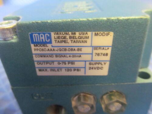 Details about  /New MAC PPC5C AAA JGCB DBA BE PPC5C-AAA-JGCB-DBA-BE 24V Free Shipping