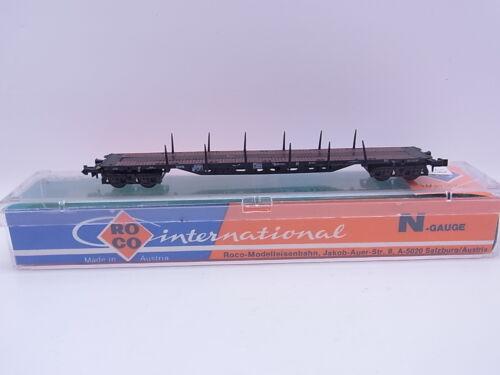 1 von 1 - LOT 38396 | Roco 2361 Containerwagen ohne Ladung mit Rungen Spur N in OVP