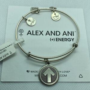 (4) Alex And Ani Stand Up To Cancer Bangle Bracelets Rafaelian Silver Finish