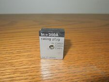 Merlin Gerin 36205 350A Rating Plug for CJ 400A Frame Breaker Used E-Ok