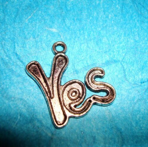 Pendant Words Charm Yes Charm Yes I Do Charm Script Charm Oui in English Charm
