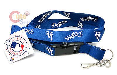 Fanartikel Weitere Ballsportarten Mlb Los Angeles Dodgers Schlüsselband Schlüsselanhänger Id Ticket Holder La Blau