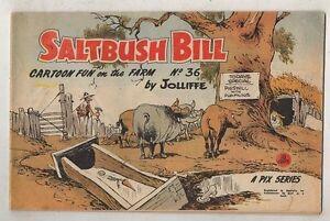 SALTBUSH-BILL-No-36-V-FINE-CONDITION-1950s-ORIGINAL-AUST-COMIC