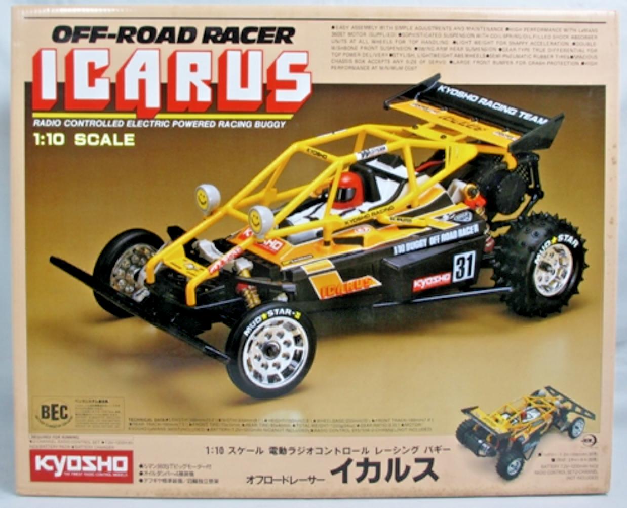 Vintage 1988 Kyosho 1 10 RC IautoUS NIB   sconto di vendita