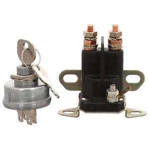 Zuendschloss-amp-Magnetschalter-Rasentraktor-u-a-MTD-Murray-Honda-Bolens-Gutbrod