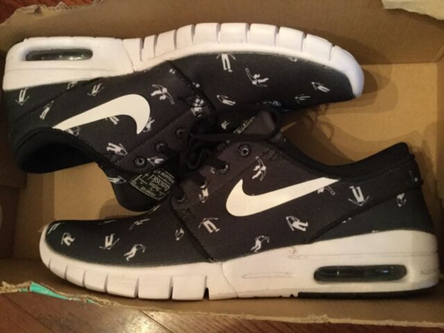 save off d38ac 6caab New Mens Nike stefan janoski max prm sb Skateboarding shoes 807497-010 Sz  7.5