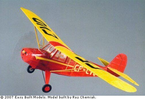 Aeronca Champion, Easy Built modelllllerler 35;LC104 Balsa trä modelllllerlerl Airplan Kit Rubber
