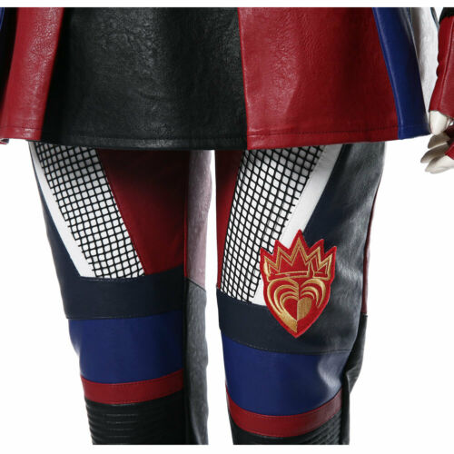Disney Descendants 3 Cosplay Evie Outfit Costume Halloween Adult Kid Suit Outfit