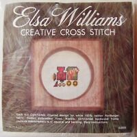 engine No. 9: Elsa Williams Christmas Cross-stitch Kit With Wood Frame -