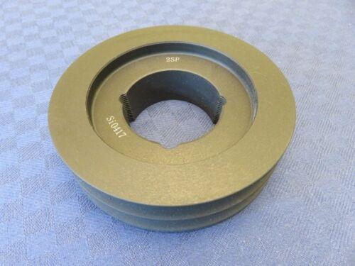 DA 95,5mm für Buchse 1610 Taper Keilriemenscheibe 2-rillig SPA//13mm DW 90mm