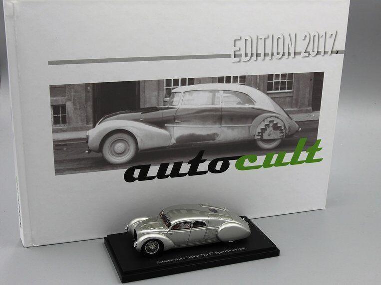 Autocult 1 43    Porsche-AutoUnion Type 52 & Book of the Year 2017 (English)  vente pas cher