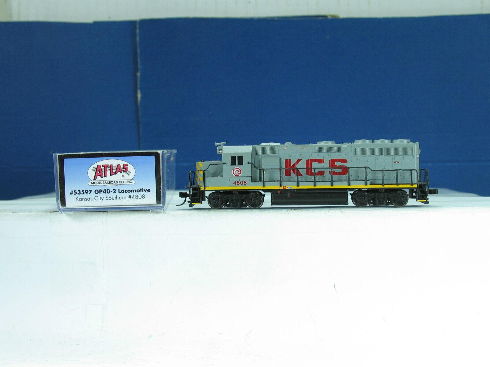 Atlas N 53597 Diesellok GP 40-2 Kansas City Southern b4478