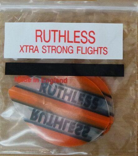 10 sets ruthless orange pear flights