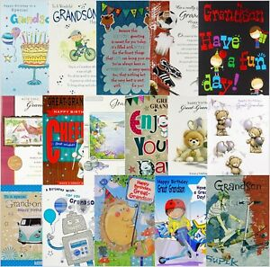 Grandson-Great-Grandson-Birthday-Card-Various-Designs-Available