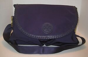 Image Is Loading Tory Burch Marion Diaper Bag Blue Ink