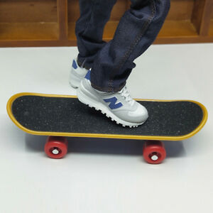 "1//6 SCALA Sport Skateboard Modello Fit for 12/"" Action Figure Accessori di scena"