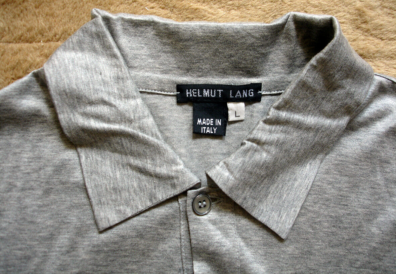 Helmut Helmut Helmut Lang Polo manica lunga taglia L 9e9186