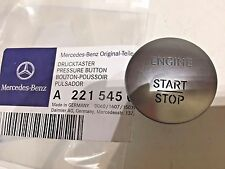 OEM MERCEDES-BENZ PUSH TO START BUTTON KEYLESS GO ENGINE START STOP