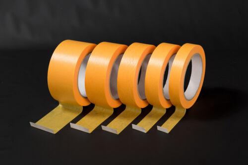 Goldband 4-Mon.-UV Abklebeband Malerband Malerkreppband Kreppband Fineline-Tape