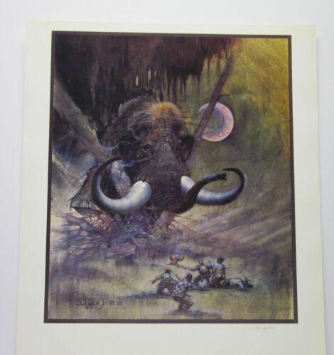 Mammoth by Arthur Suydam Hand Signed by Arthur Suydam