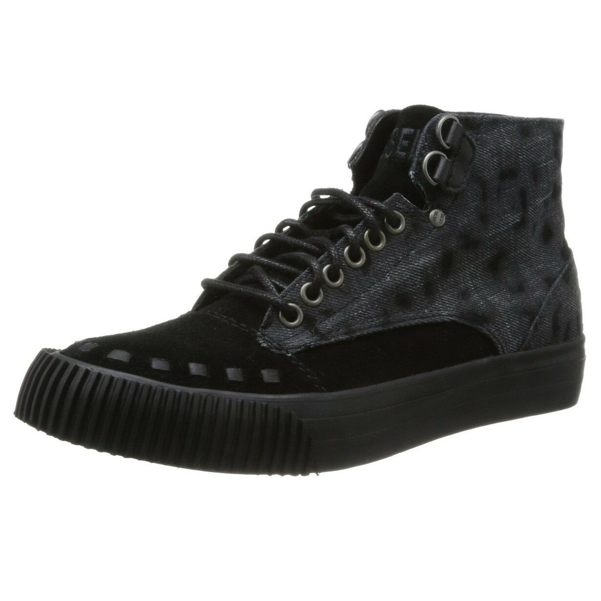 Diesel LAIKA PERSIS W metà Leopardo Stampa Sneaker women shoes da ginnastica