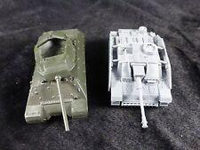 1/72 WWII German Stug III Assault Gun + US M10 Tank Destroyer Assembled Models