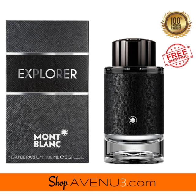 Mont Blanc EXPLORER 3.3oz/100ml EDP Spray Cologne for Men *BRAND NEW Sealed Box*