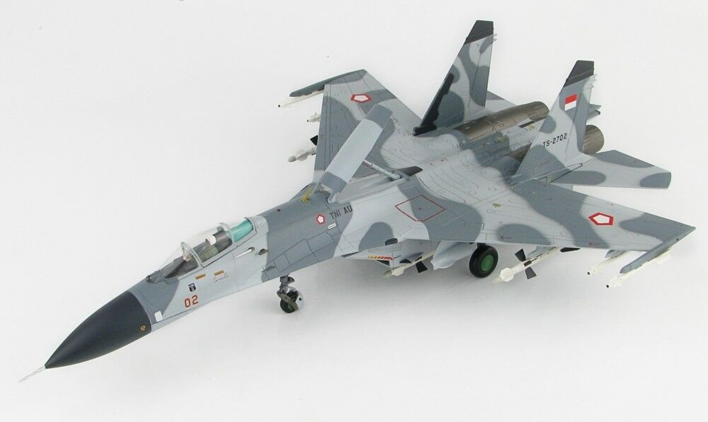 Hobby Master Ha6005 Sukhoi Su-27sk Flanker 11th Sqn Indonesia Fuerza Ts-2702