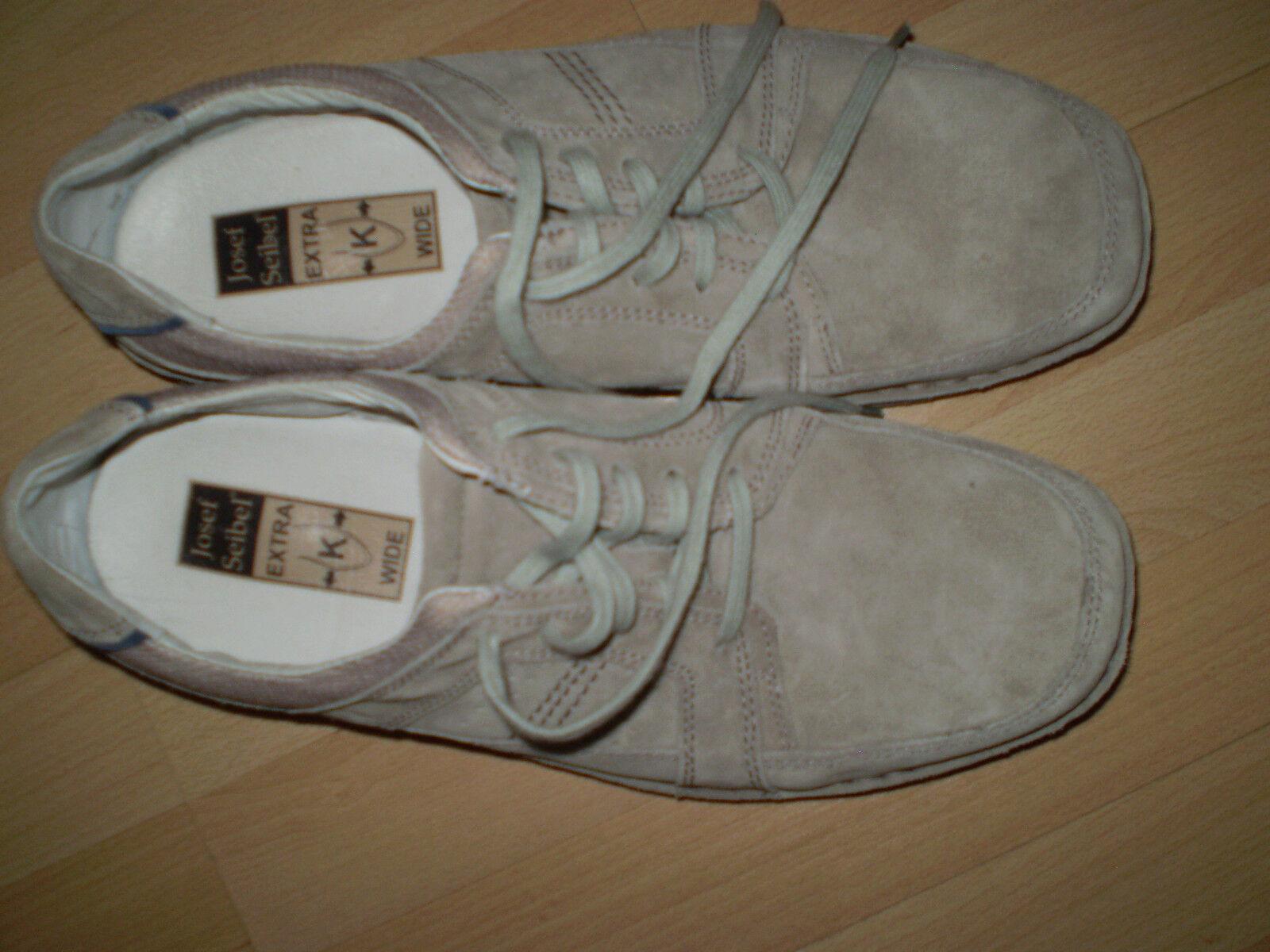 Echt Leder Herren Schnür Schuhe Gr. 45 Beige Neuwertig nur 1- mall kurz getrag