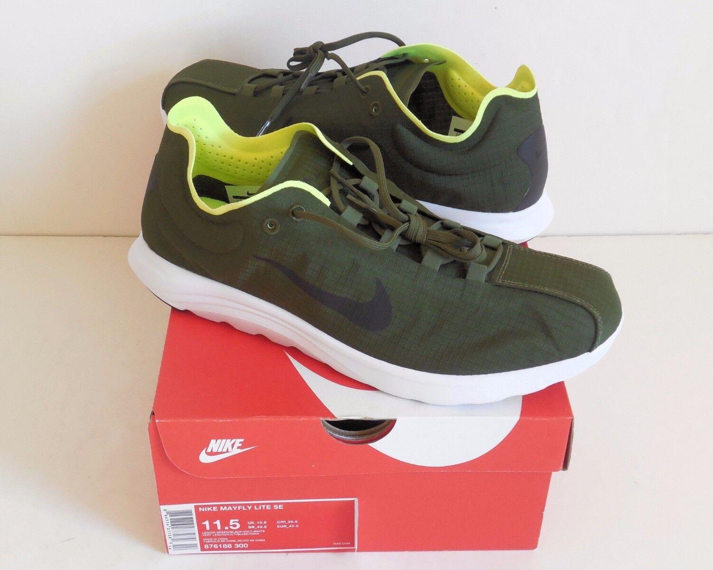Nike Eintagsfliege Lite Se 876188-300 Laufschuhe 11.5 Neu