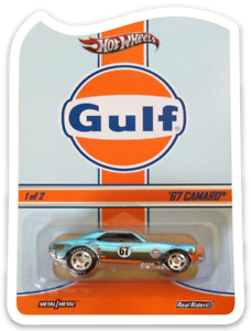 MAGNET-Hot-Wheels-RLC-Gulf-039-67-Camaro-MAGNET-for-Fridge-Toolbox
