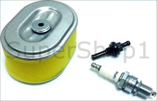 bougie Nº de suivi Filtre à carburant Service Kit Pour Honda GX110 GX120 Filtre à Air