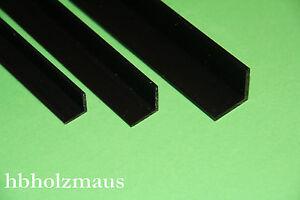 2-99-m-PVC-U-Winkelprofil-L-Profil-Schwarz-20-x-20-x-2-mm-Laenge-waehlbar