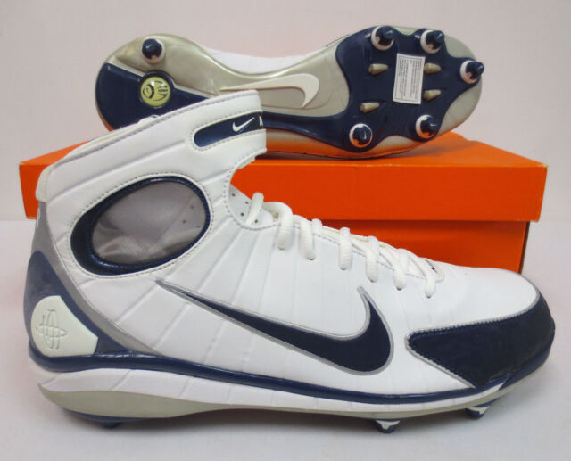 30ce5903af807 Frequently bought together. NIKE AIR HUARACHE 2K4 D FOOTBALL CLEATS SIZE 14  MENS 316149 141 WHITE NAVY