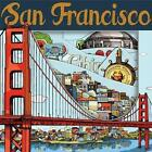 San Francisco by Andrews McMeel Publishing 9781449455835 Board Book 2014